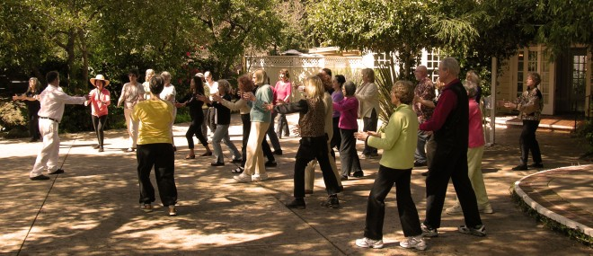 Wellness Class Qigong outside